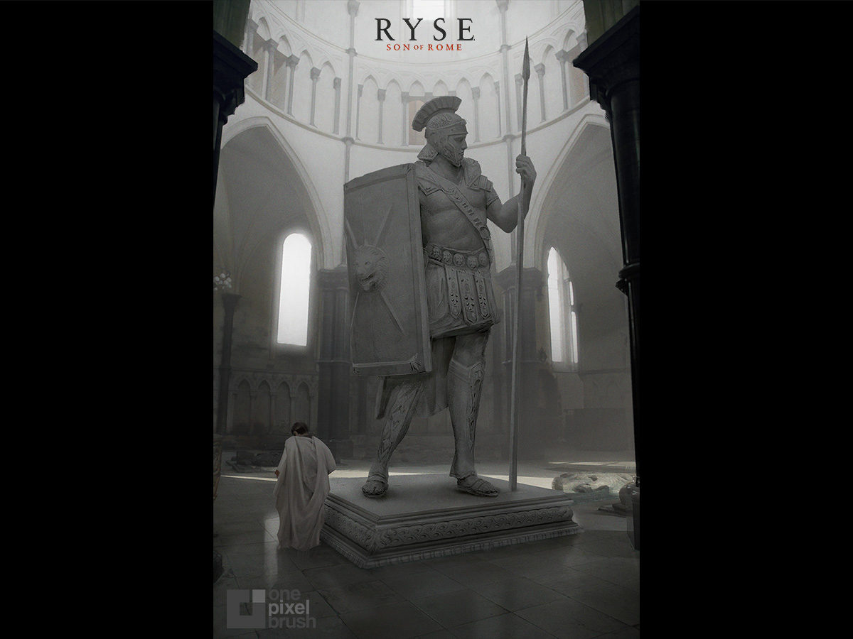 shaddy safadi, shaddy, concept art, RYSE, crytek, digital painting, concept art