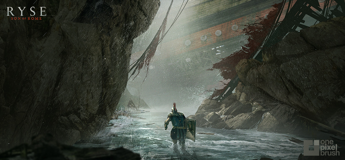 shaddy, shaddy safadi, concept art, digital painting, RYSE, crytek