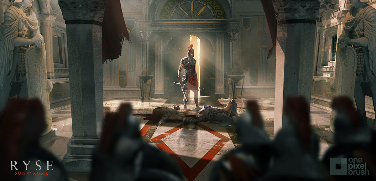 RYSE, shaddy safadi, shaddy, concept art, digital painting,