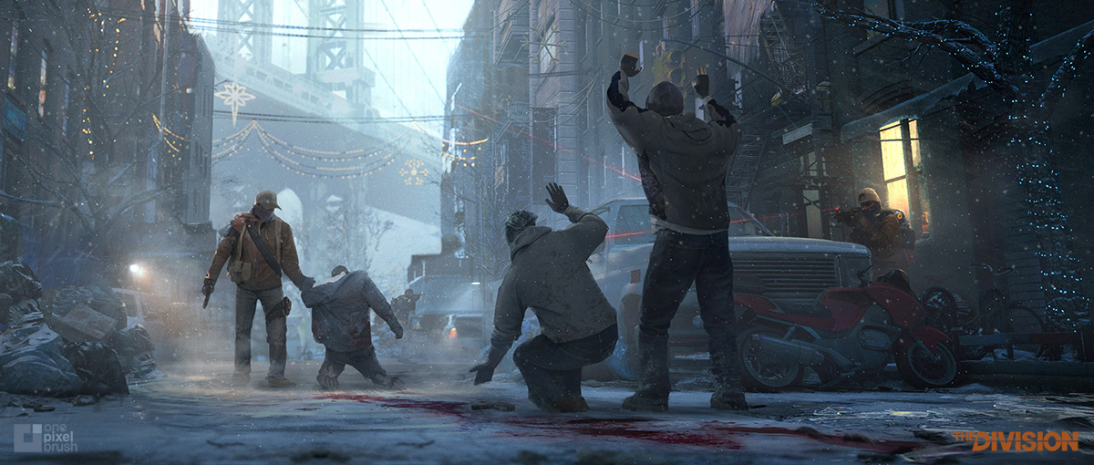 Shaddy, Concept art, division, ubisoft, blur, e3 trailer, digital painting