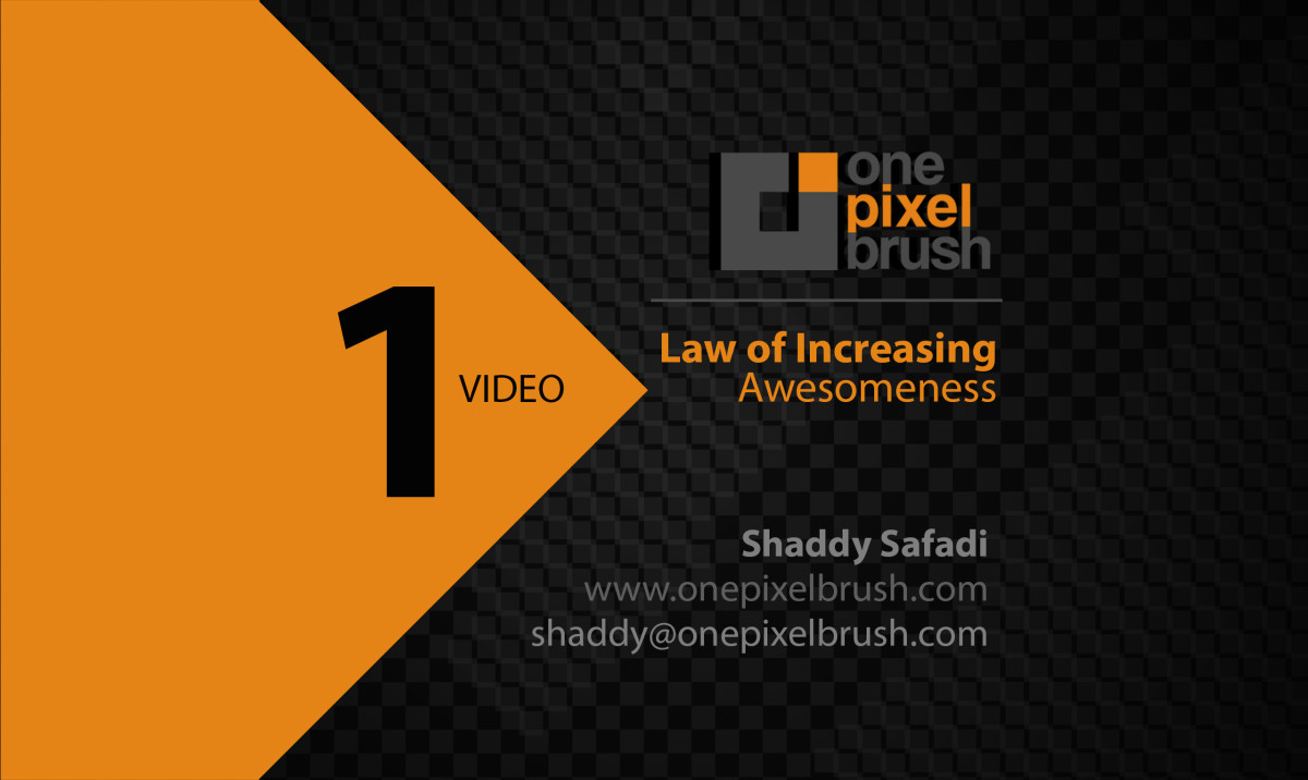 Law-of-increasing-Awsomeness