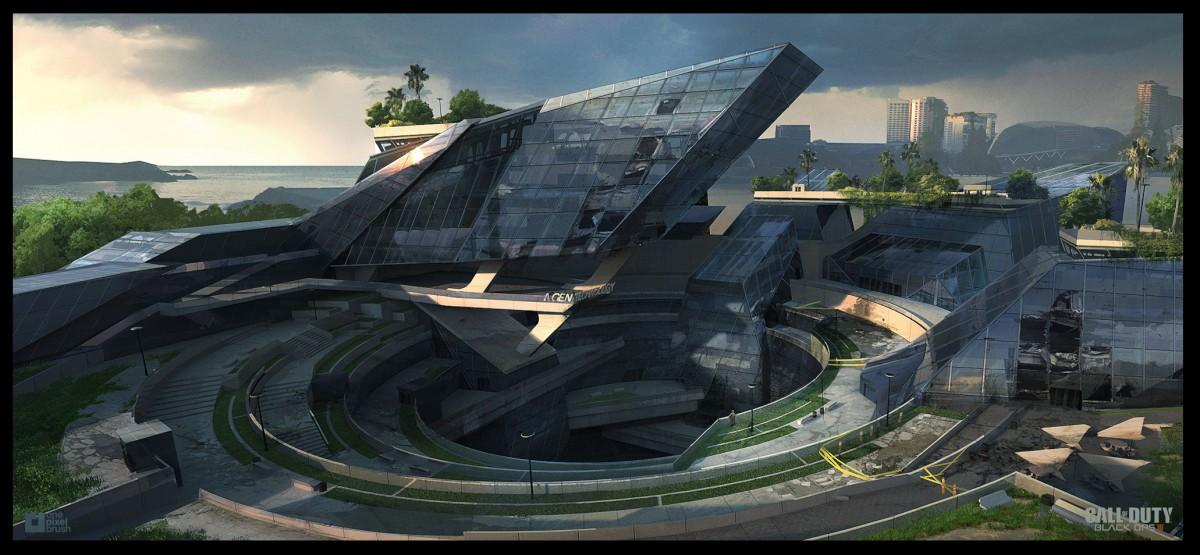 Black Ops III, concept art, shaddy safadi, digital painting, video games, one pixel brush